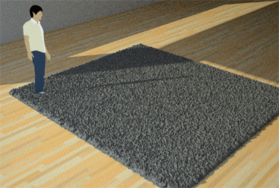 Step 4. Add some carpet | Indigo Renderer