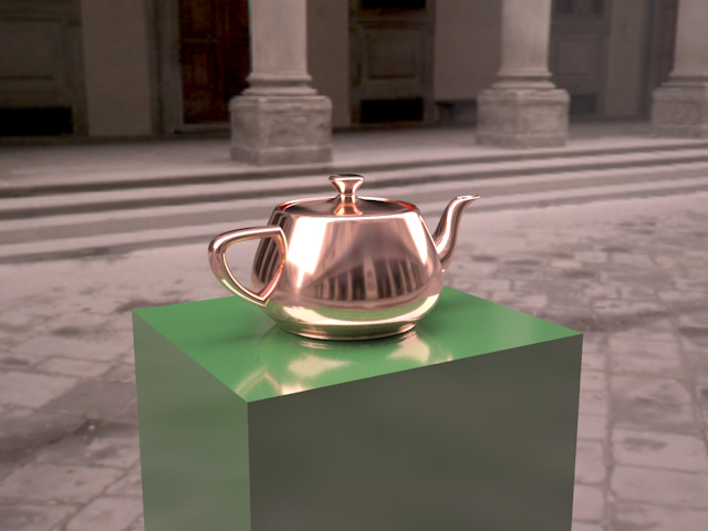 Teapot on a pedestal