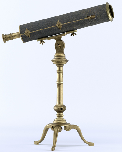 Detailed telescope by Axel Ritter