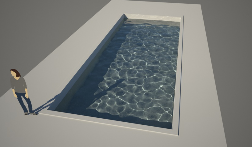 Modelling a pool in sketchup for Pool design sketchup