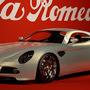 Alfa Romeo 8c Competizione (front side)
