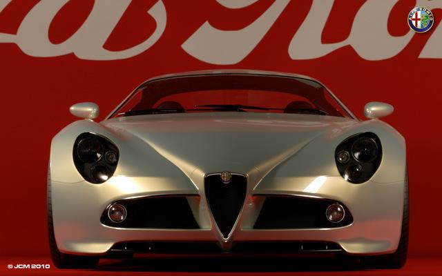Alfa Romeo 8c Competizione (front)