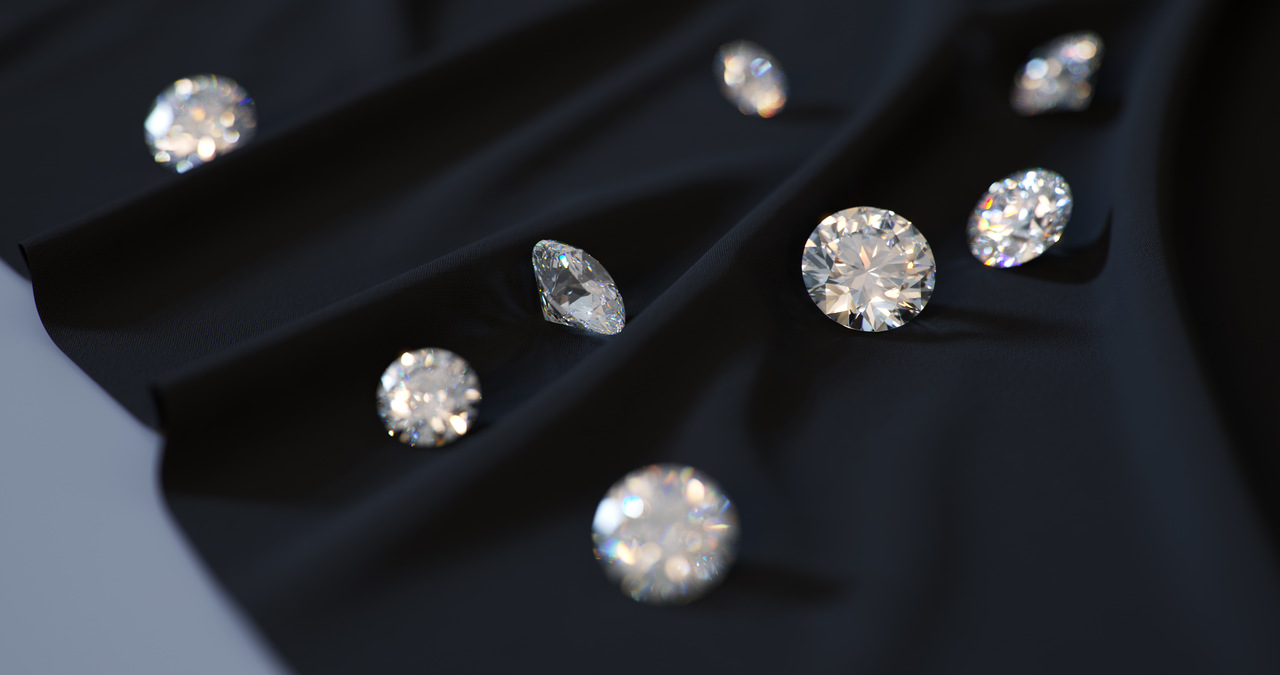 Diamonds on Cloth