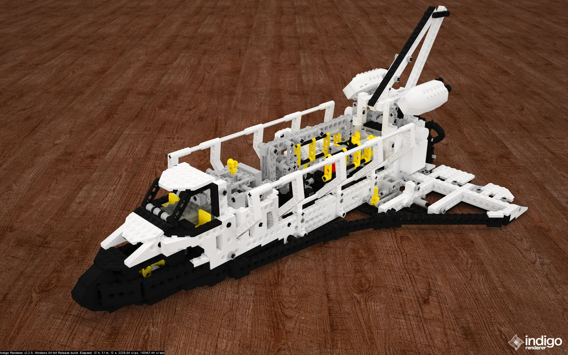 lego space shuttle a - photo #43