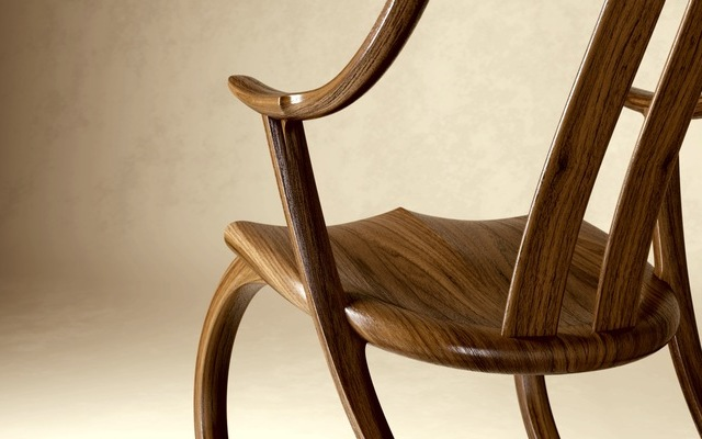 Rocking Chair - DAvid Haig - close-up