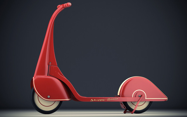 Skippy Racer Scooter