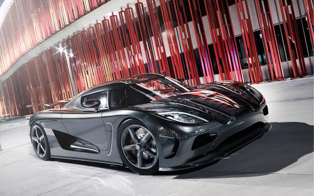 Koenigsegg architecture