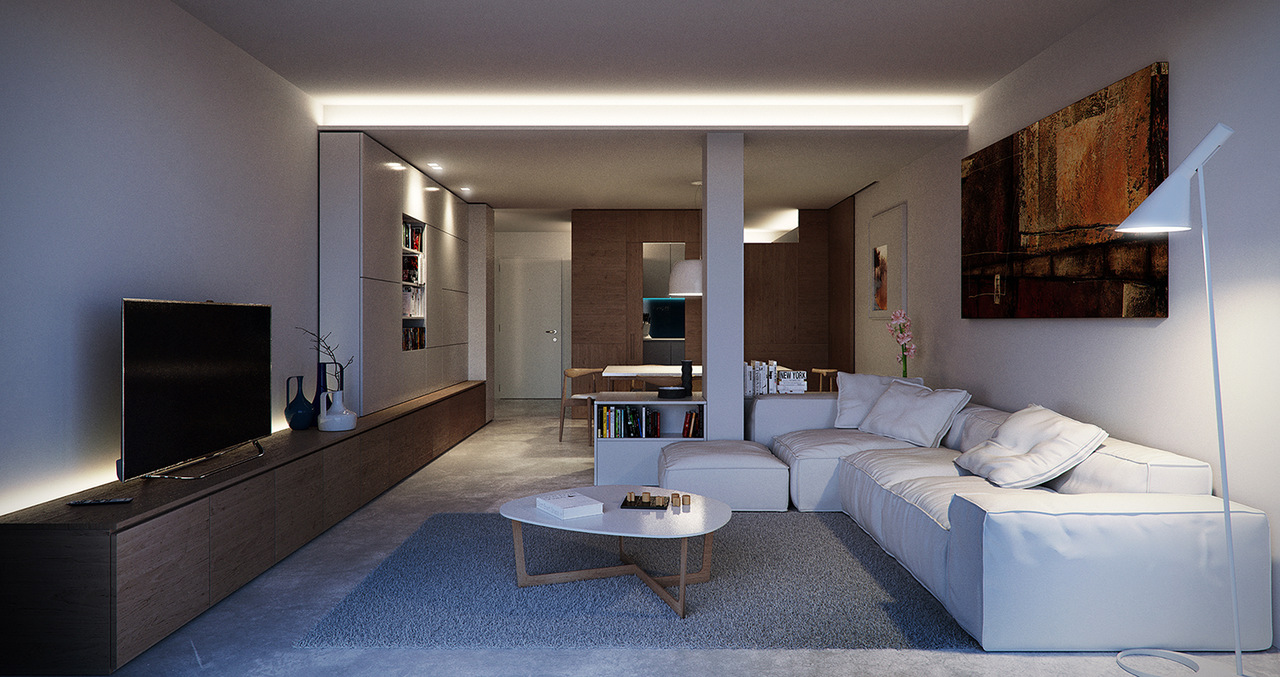 Living Room - Evening