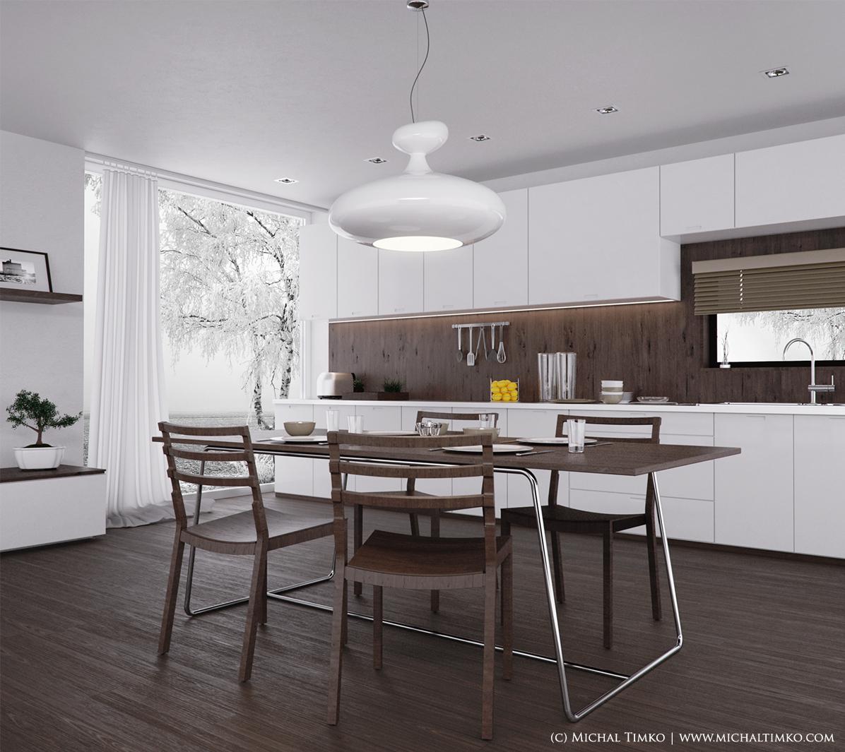 Modern Luxury Kitchen (catalogue Style)