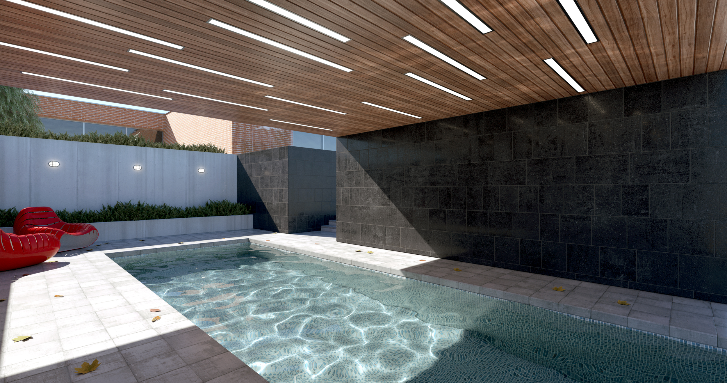 Indigo renderer bring your sketchup ideas to life for Pool design sketchup