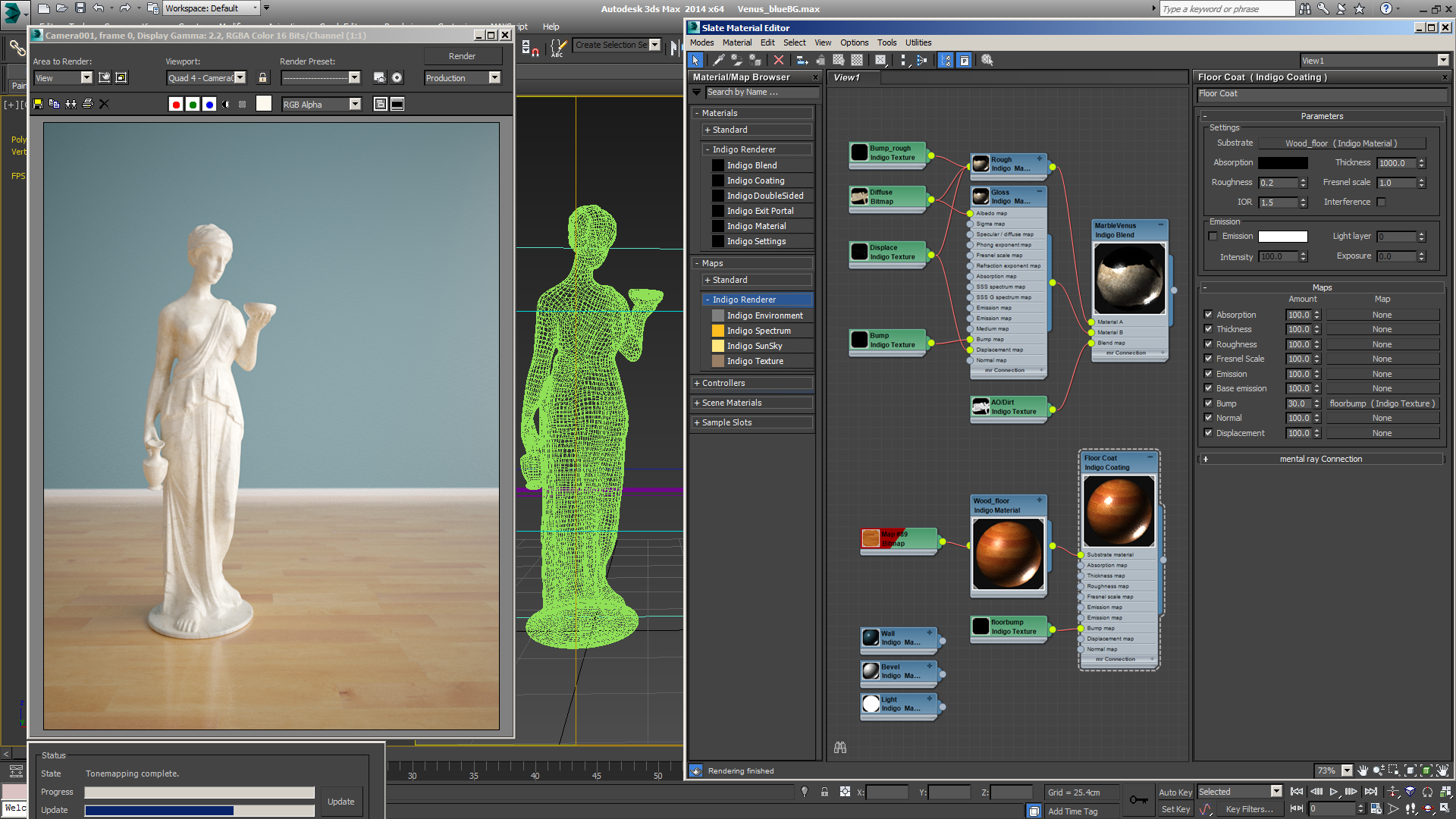 Gamma 22 in 3ds Max 2008 and VRay 15 tutorial