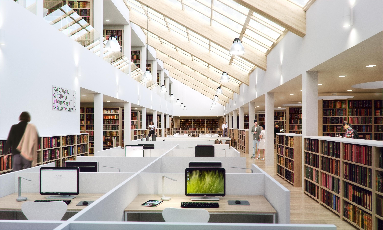 Amazing Library Shot By Pibuz Indigo Renderer