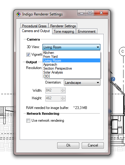 Render settings for Rendering online