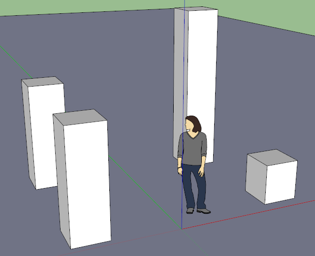 Default (perspective) camera projection