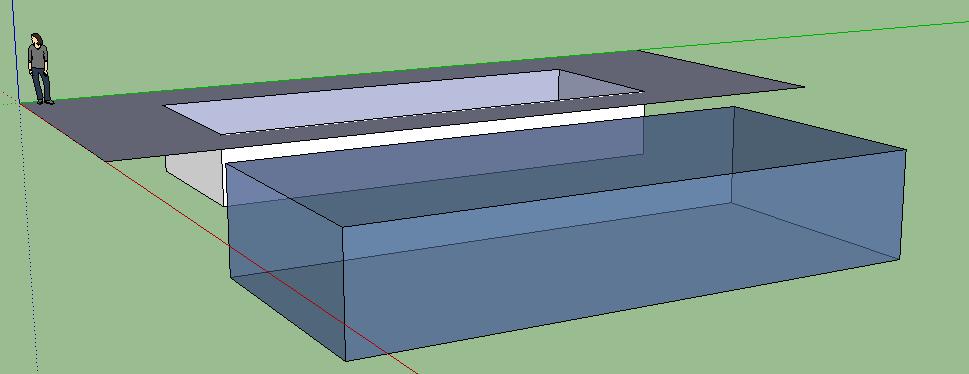 Modelling a pool in sketchup indigo renderer for Pool design sketchup